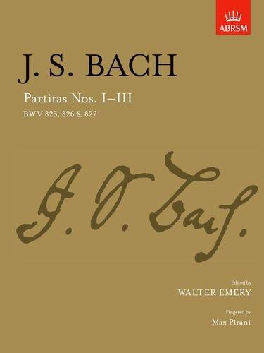 9781854721945: Partitas I-III: BWV 825-827: BWV 825-827 Nos. 1-3 (Signature Series (ABRSM))