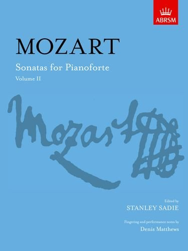 9781854722003: Sonatas for Pianoforte, Volume II (Signature Series (ABRSM)) (v. 2)