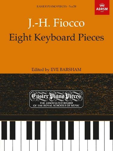 9781854723352: Eight Keyboard Pieces: J.-H. Fiocco