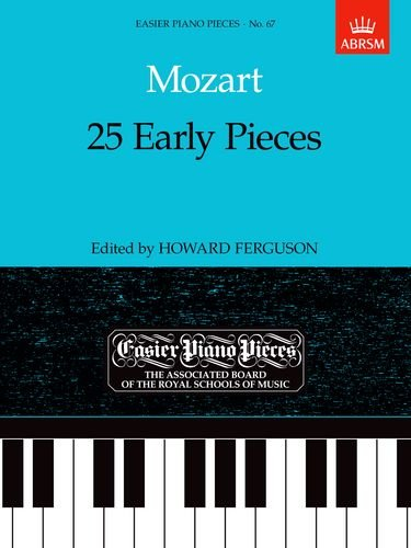 9781854723581: 25 Early Pieces (Easier Piano Pieces)