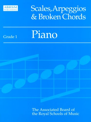 9781854727589: Scales, Arpeggios and Broken Chords: Grade 1: Piano