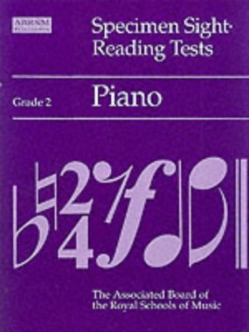 9781854727671: Specimen Sight-reading Tests: Grade 2: Piano