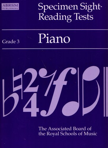 9781854727688: Specimen Sight-reading Tests: Grade 3: Piano