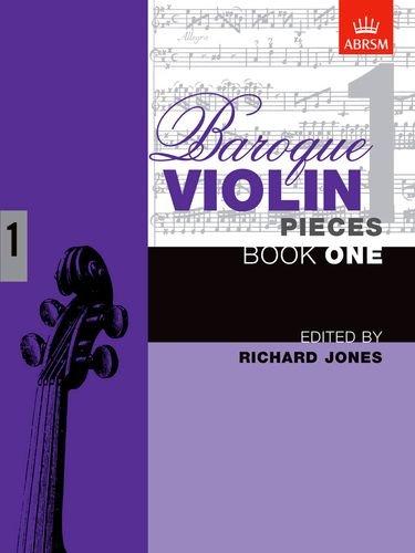 9781854728289: Baroque Violin Pieces, Book 1 (Baroque Violin Pieces (ABRSM)) (Bk. 1)