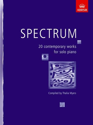 9781854728715: Spectrum: 20 contemporary works for solo piano (Spectrum (ABRSM))