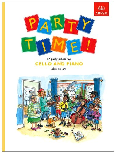 9781854729477: Party Time! 17 party pieces for cello and piano