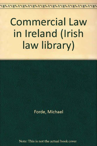9781854751232: Commercial Law in Ireland (Irish law library)