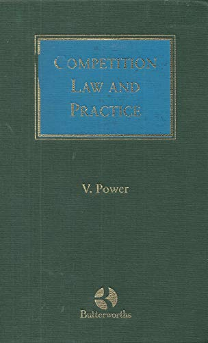 9781854751355: Competition Law and Practice in Ireland and the EU (Butterworths Irish law library)