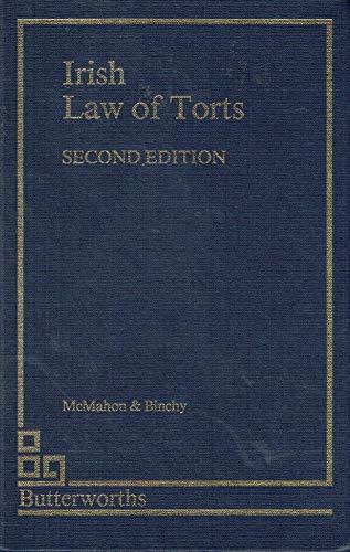 9781854751553: Irish Law of Torts