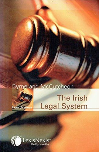 The Irish Legal System: Raymond Byrne