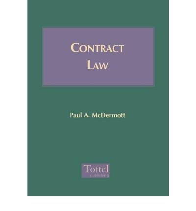 9781854753601: Contract Law (Irish law library)