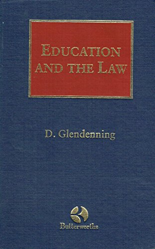 9781854758415: Education and the Law