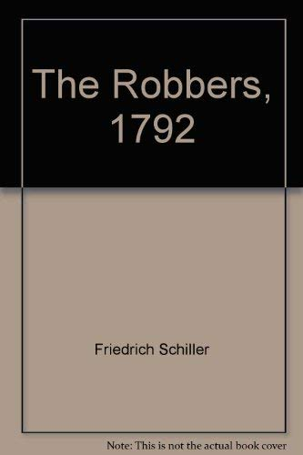 9781854770042: The Robbers, The (Revolution & Romanticism, 1789-1834)