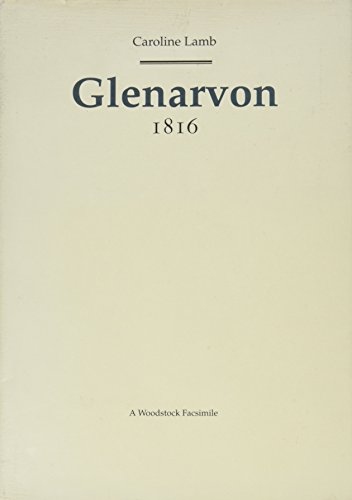 9781854771322: Glenarvon (Revolution and Romanticism, 1789-1834)