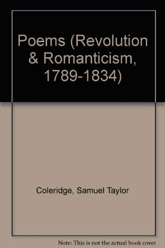 Poems: 1797 (Revolution and Romanticism, 1789-1834) (9781854771971) by Samuel Taylor Coleridge; Charles Lamb; Charles Lloyd
