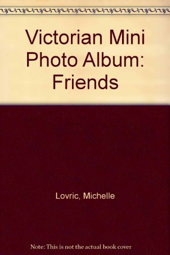 9781854792082: Victorian Mini Photo Album: Friends