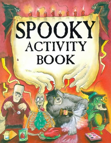 The Spooky Activity Box : Book, Spider,: Kate Brookes