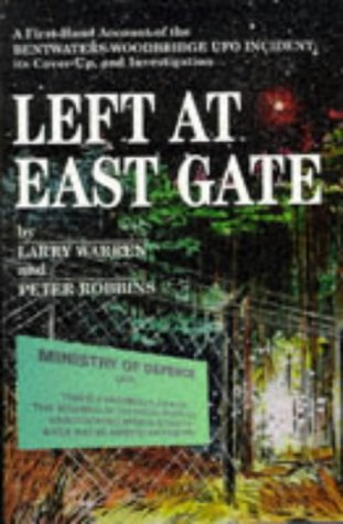 LEFT AT EAST GATE (DOUBLE INSCRIBED COPY): WARREN, Larry and ROBBINS, Peter