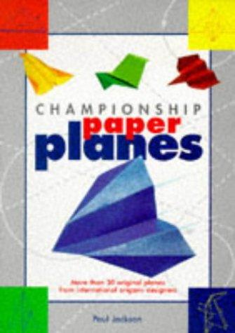 9781854793560: Championship Paper Planes