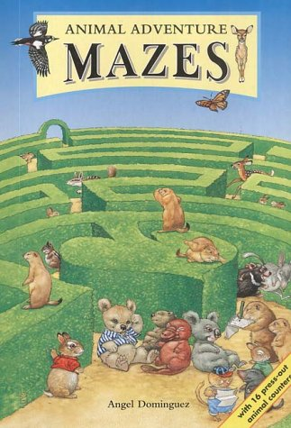Animal Adventure Mazes: Michael O'Mara Books Ltd