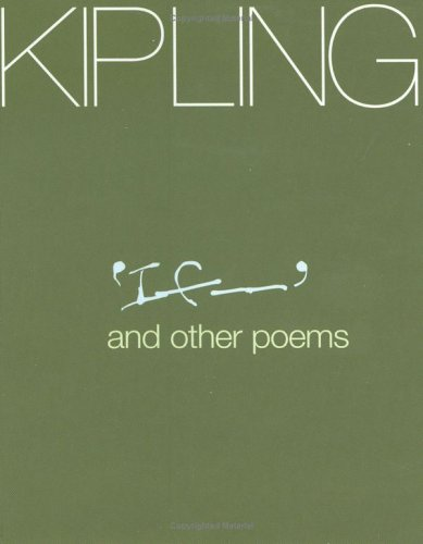 Kipling: If. and Other Poems (Pocket Poets): Rudyard Kipling