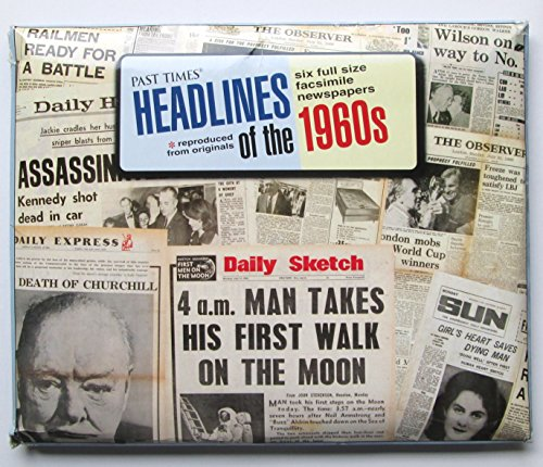 9781854798428: Headlines of the '60s (Past Times)