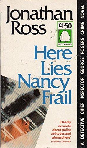 9781854810250: Here Lies Nancy Frail