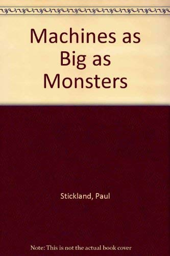 9781854850140: Machines As Big As Monsters