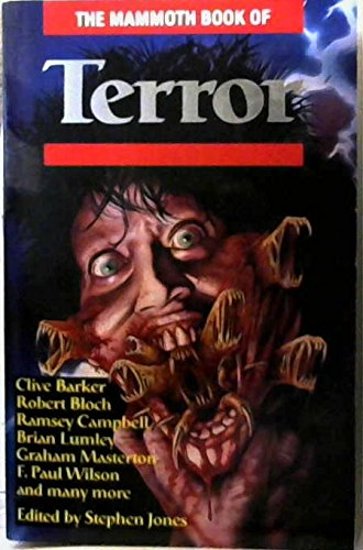 9781854870759: Mammoth Book of Terror