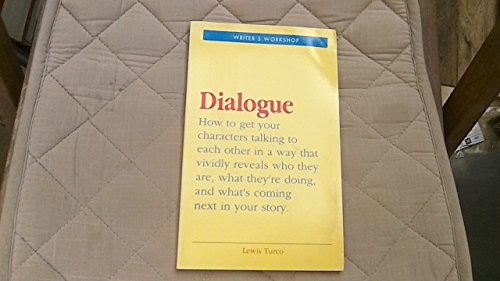 9781854870865: Dialogue: Writer's Workshop