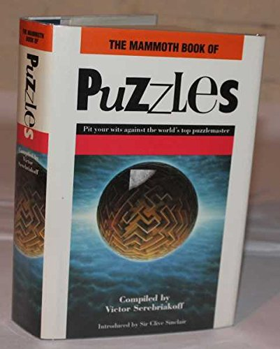 9781854871855: THE MAMMOUTH BOOK OF PUZZLES.