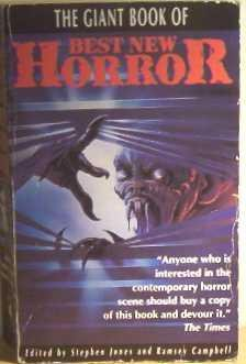 9781854871930: The Giant Book of Best New Horror