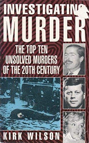 9781854872395: Investigating Murder