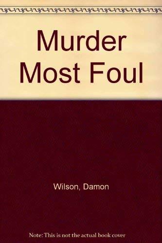 9781854872852: Murder Most Foul