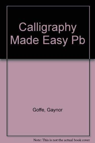 9781854873026: Calligraphy Made Easy
