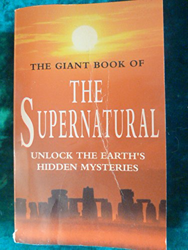 9781854873729: Giant Book of the Supernatural