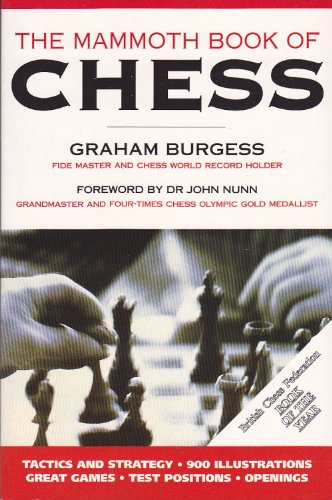 9781854875099: The Mammoth Book of Chess