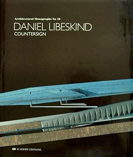 9781854900975: Libeskind, Daniel (Architectural Monographs)