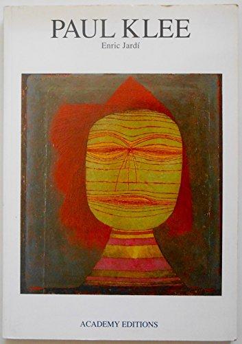 9781854901156: Paul Klee (Art Monographs)