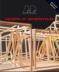 9781854901767: Folding in Architecture