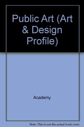 Public Art (Art and Design Profiles)
