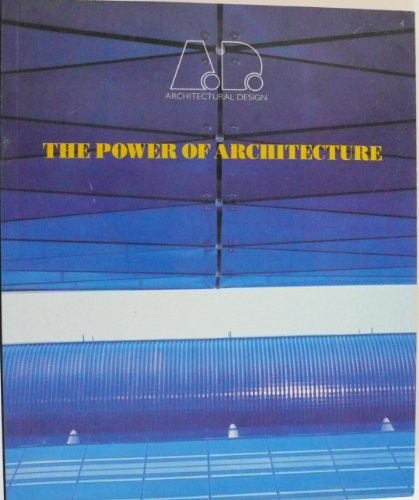 Power of Architecture.: ARCHITECTURAL DESIGN MAGAZINE