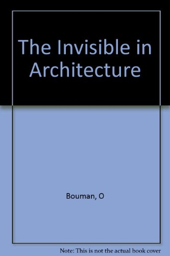 The Invisible in Architecture: Roemer van Toorn; Ole Bouman; Editor-Roemer Van Toorn