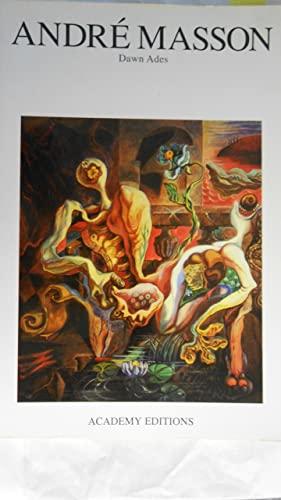 9781854903143: Andre Masson (Art Monographs)