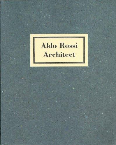 9781854903648: Aldo Rossi Architect