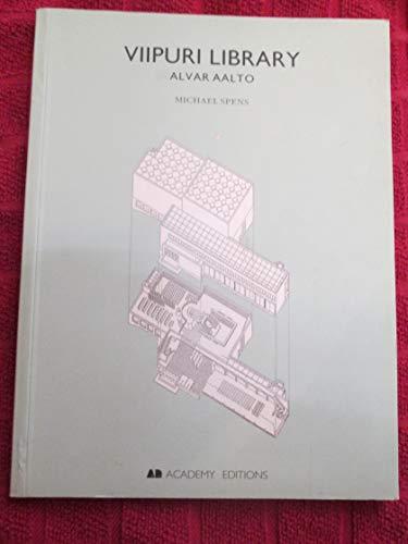 9781854903655: Viipuri Library 1927-1935: Alvar Aalto