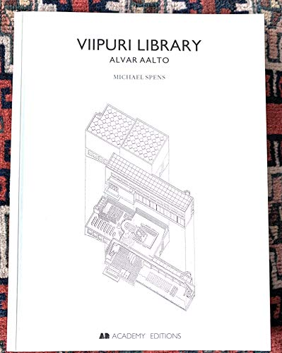 9781854903662: The Viipuri Library by Alvar Aalto, 1927-34 (Historical Monograph)