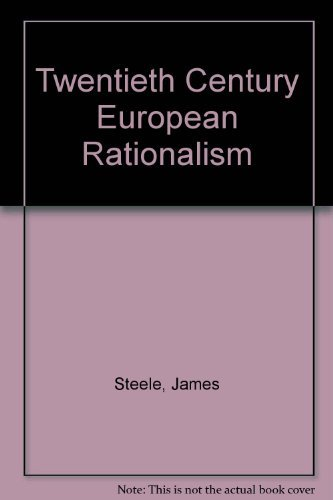 20th Century European Rationalism: Panos Koulermos
