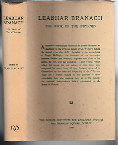 Leabhar Branach: The Book of the O'Byrnes: Sean Mac Airt