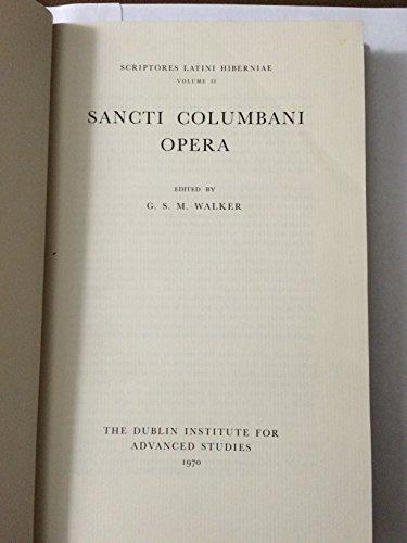 Sancti Columbani opera: Edited by G.